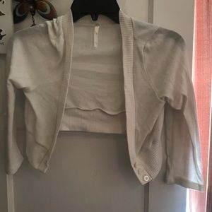 Other - open to offers Girls White Cardigan